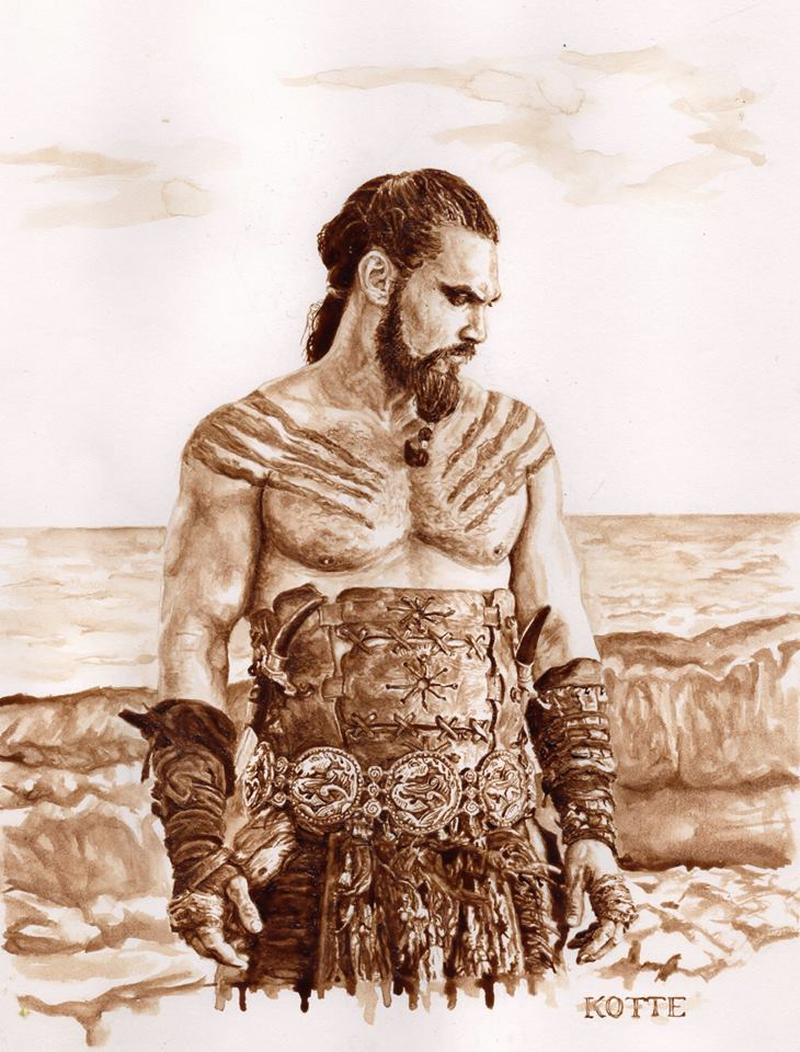 Khal Drogo looking broody